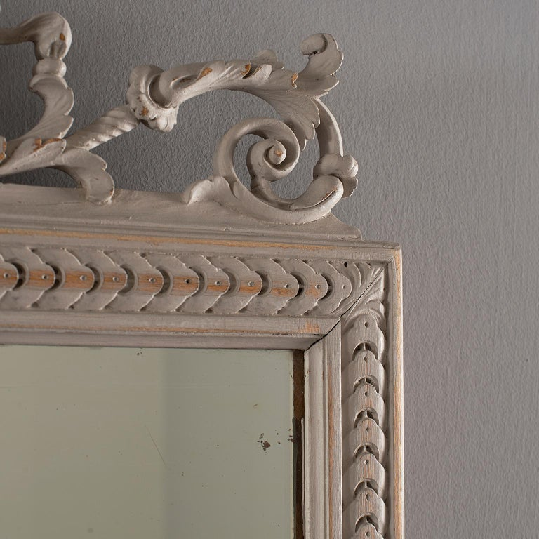 Pair of 19th Century Directoire Mirrors For Sale 3