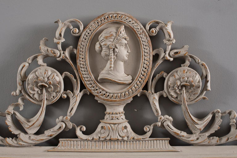 Pair of 19th Century Directoire Mirrors For Sale 4