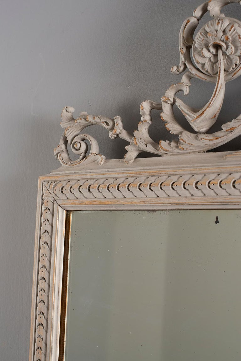 Pair of 19th Century Directoire Mirrors For Sale 5