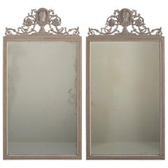 Pair of 19th Century Directoire Mirrors