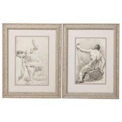 Pair of 19th Century Drawings