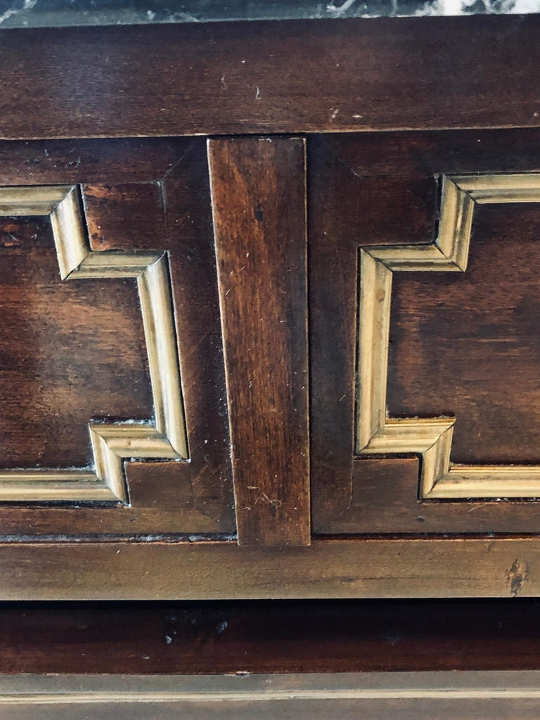 Pair of 19th Century Empire Style Commodes or Nightstands For Sale 7