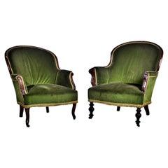 Pair of 19th Century English Bergeres