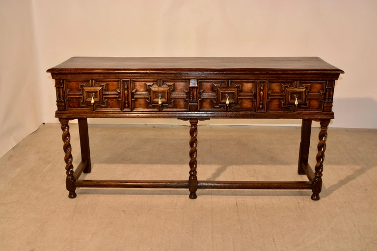 Pair of 19th Century English Geometric Sideboards For Sale 5