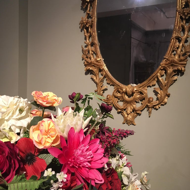 Pair of 19th Century English Giltwood Mirrors in the George III Style For Sale 6