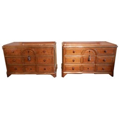 Pair of 19th Century Fine and Rare Russian Commodes