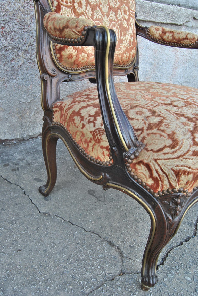 Pair of 19th Century French Armchairs For Sale 5