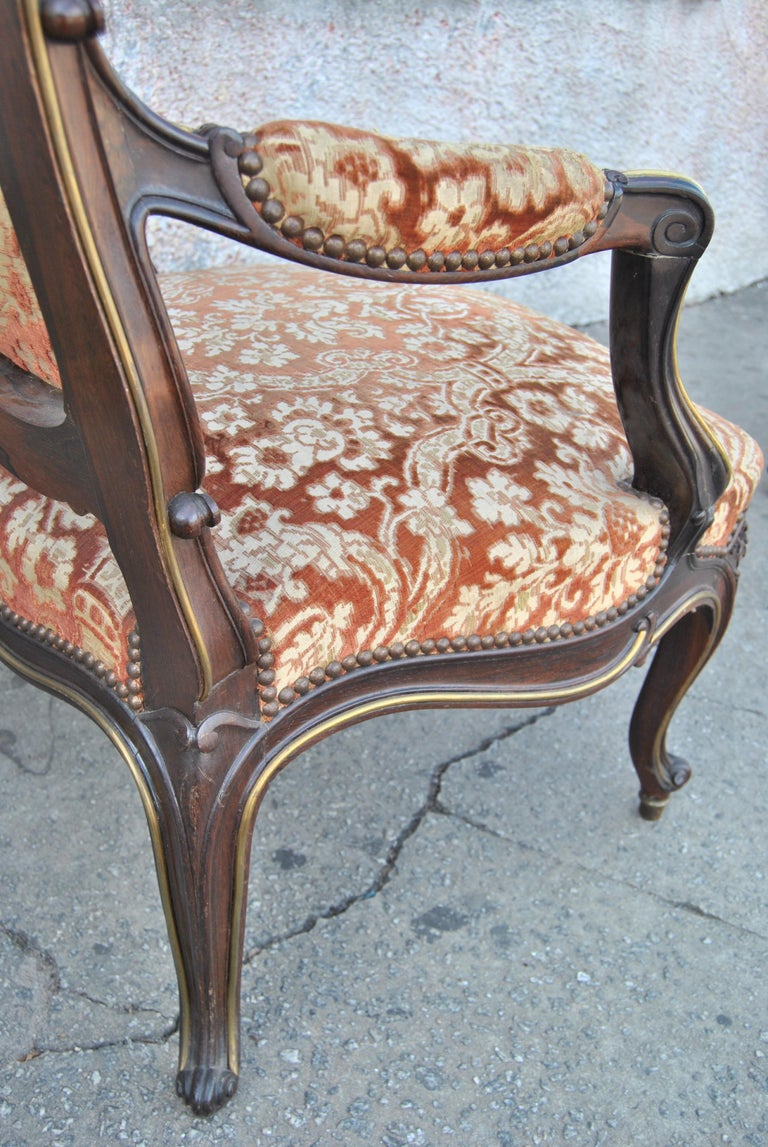 Pair of 19th Century French Armchairs For Sale 6