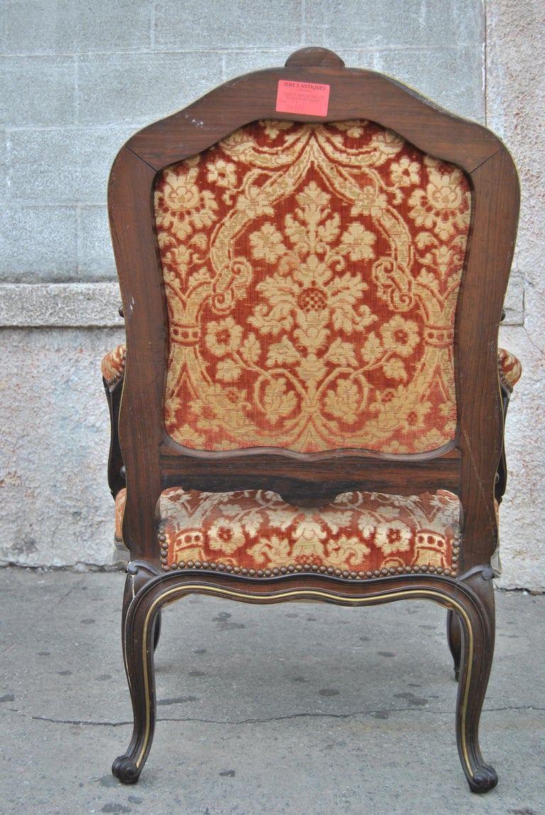 Pair of 19th Century French Armchairs For Sale 1