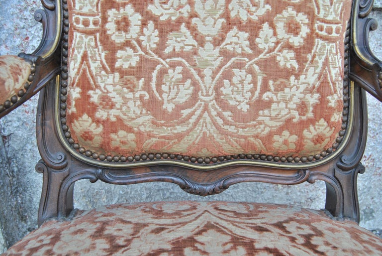 Pair of 19th Century French Armchairs For Sale 3