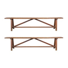 Pair of 19th Century French Benches