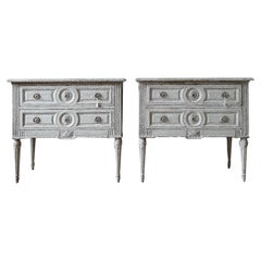 Oak Commodes and Chests of Drawers