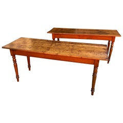 Pair of 19th Century French Hunt Tables