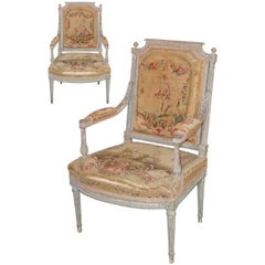 Pair of 19th Century French Louis XVI Armchairs