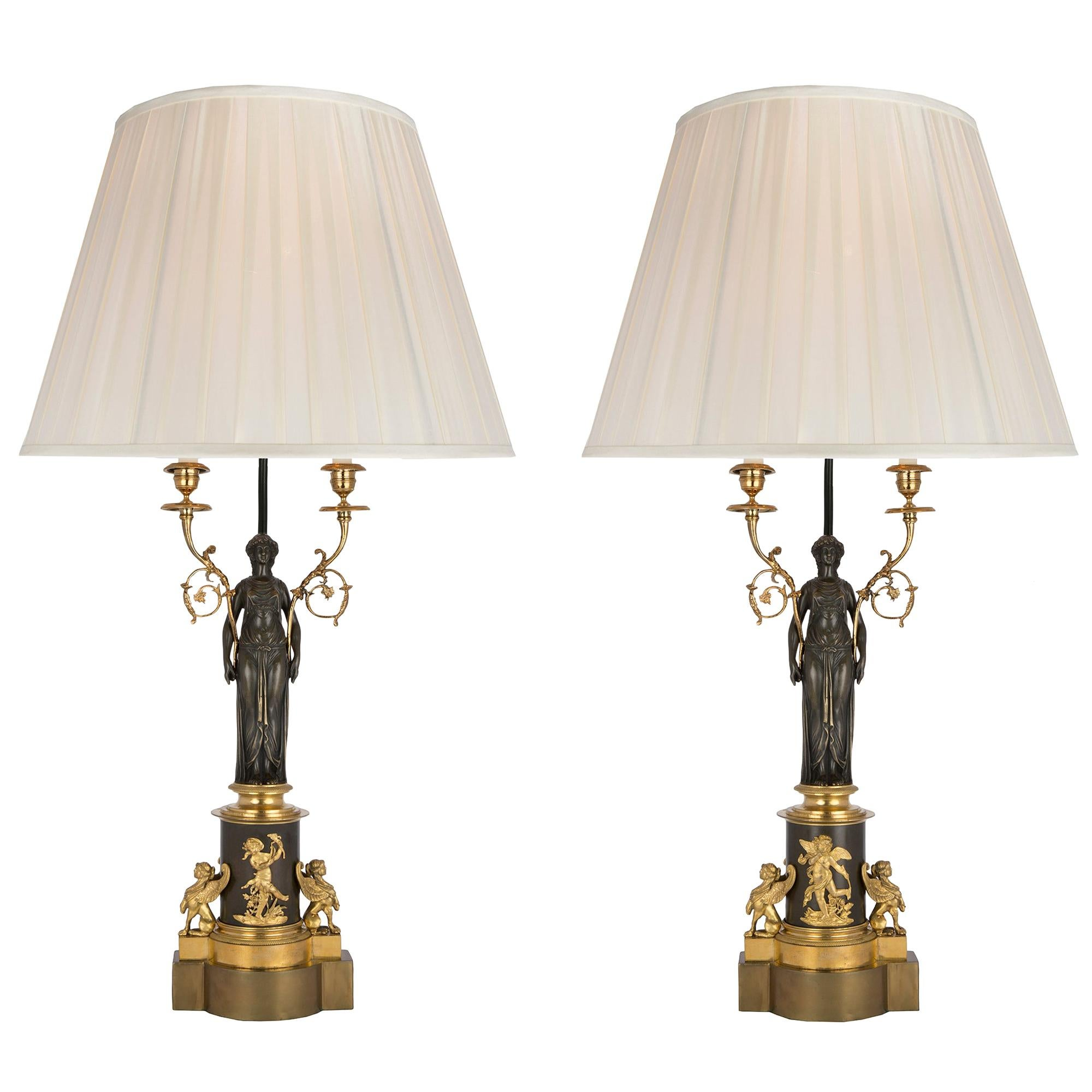 Neoclassical Table Lamps 539 For Sale