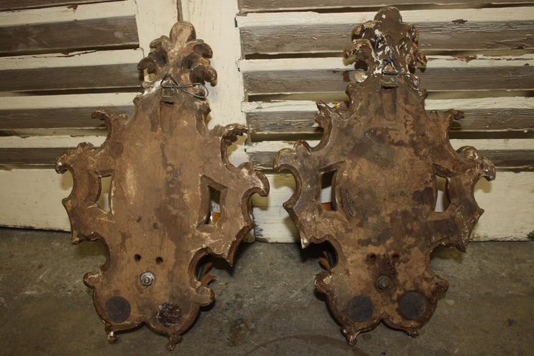 Pair of 19th Century French Sconces For Sale 7