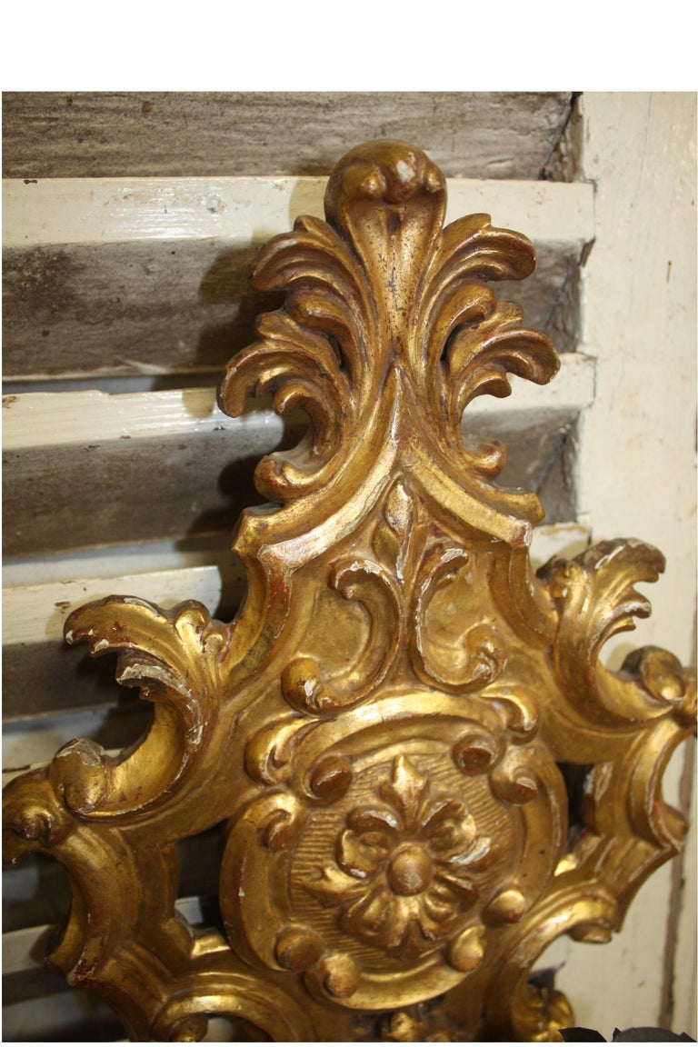 Pair of 19th Century French Sconces For Sale 4