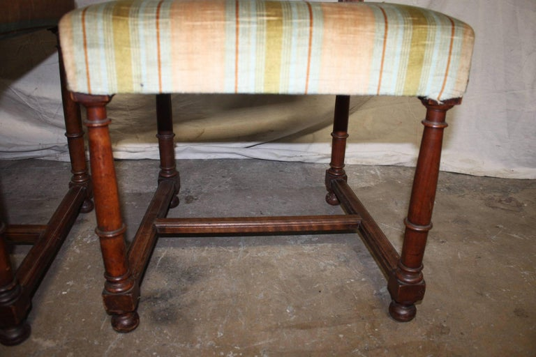 Pair of 19th Century French Side Chairs For Sale 2