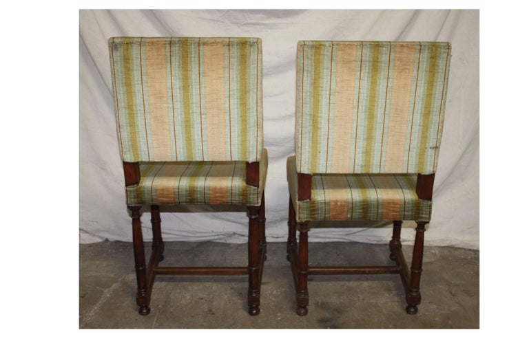 Pair of 19th Century French Side Chairs For Sale 3
