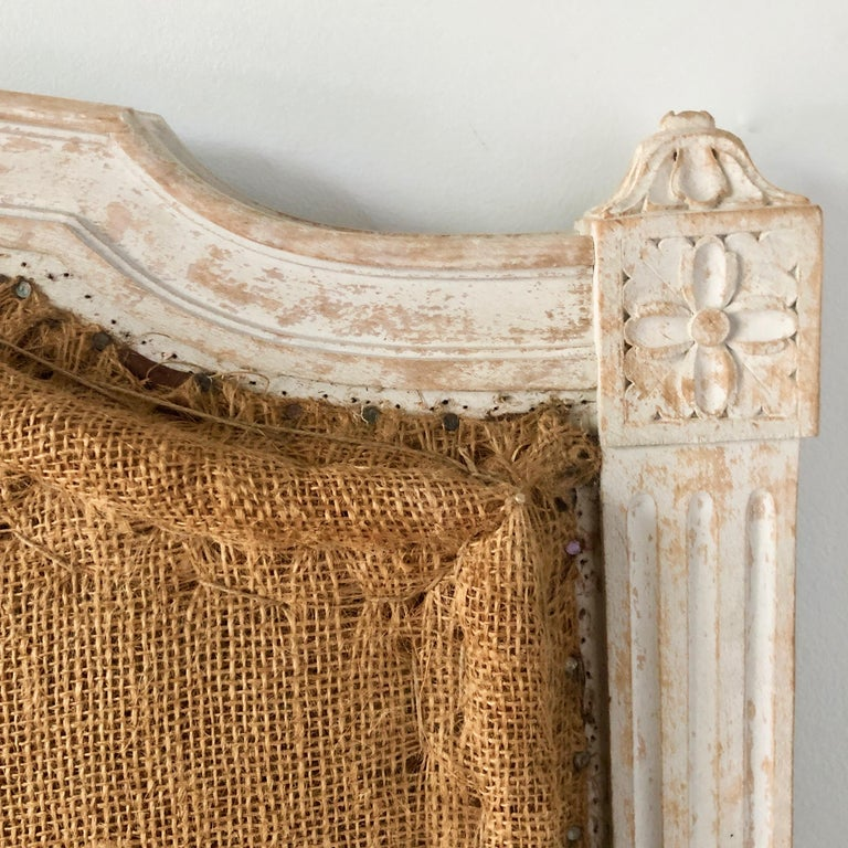 Jute Pair of 19th Century French Single Beds