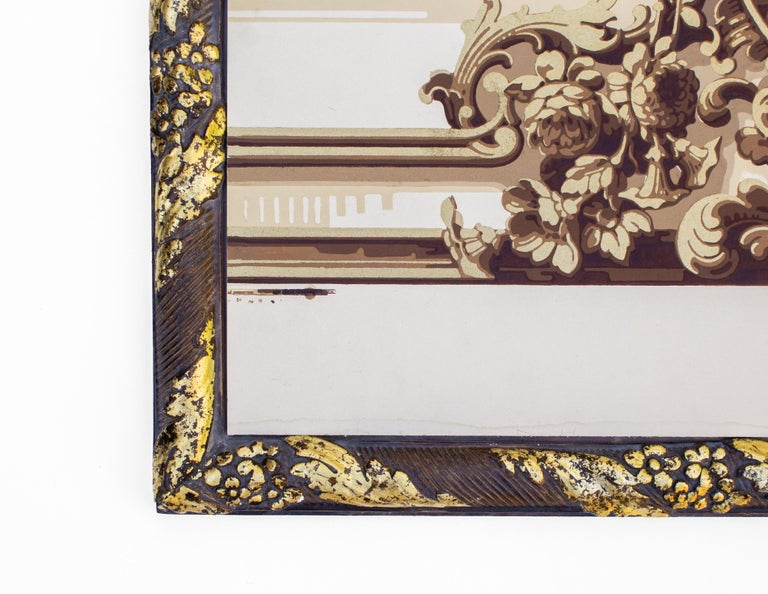 Pair of 19th Century French Wallpaper Panels For Sale 3