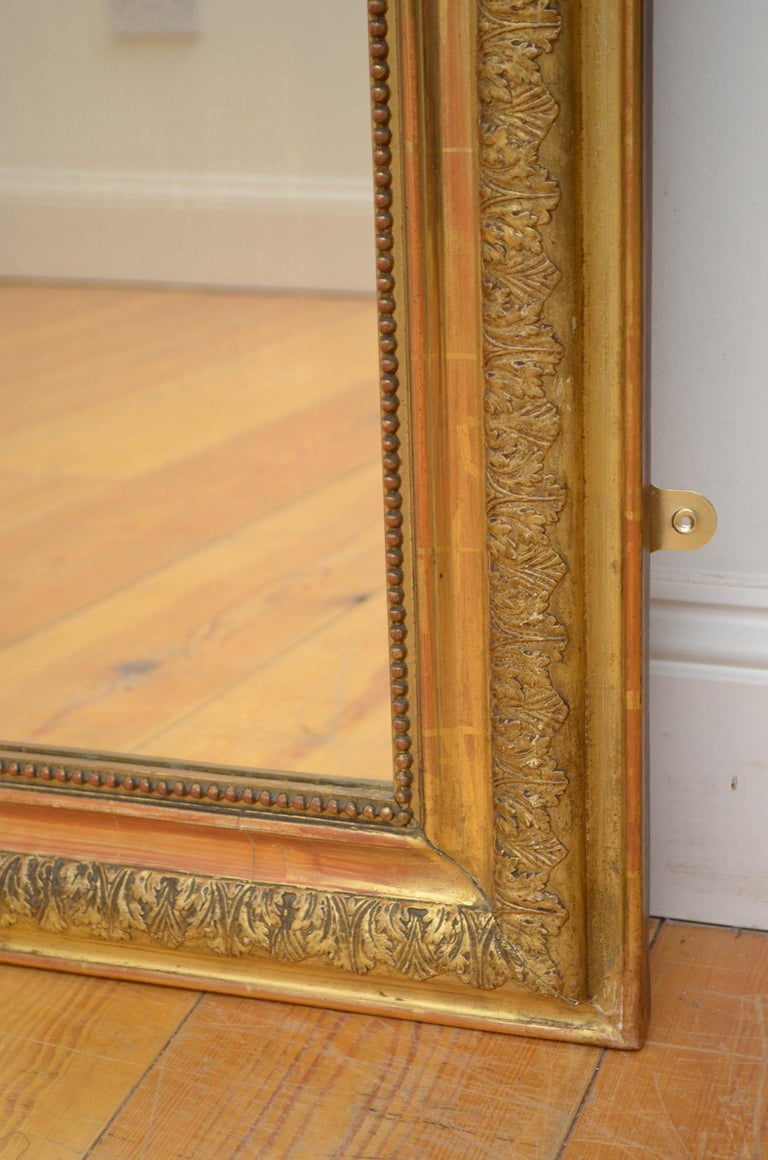 Pair of 19th Century Giltwood Mirrors 4