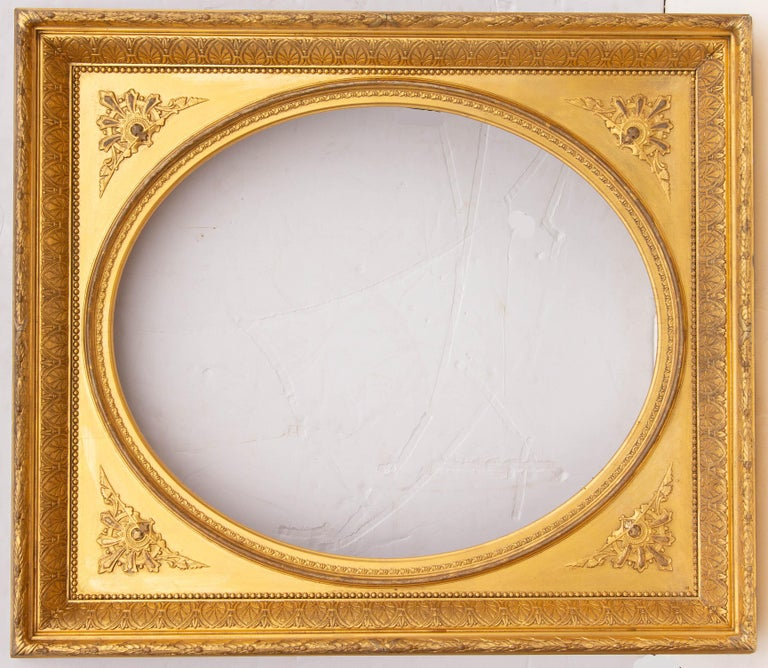 American Pair of 19th Century Giltwood Mirrors