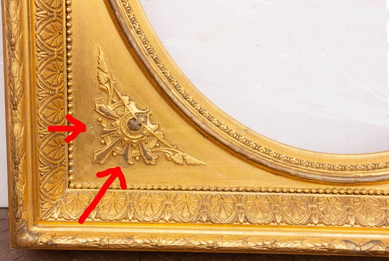 Pair of 19th Century Giltwood Mirrors 1