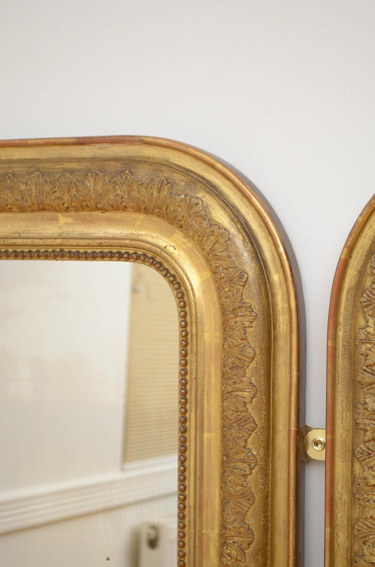 Pair of 19th Century Giltwood Mirrors 2