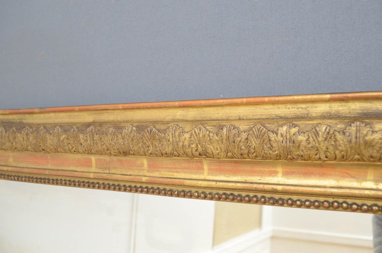 Pair of 19th Century Giltwood Mirrors 3