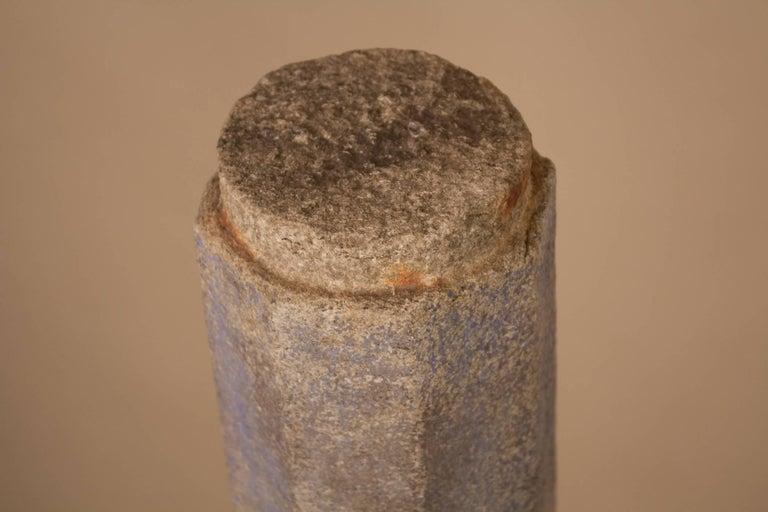 Pair of 19th Century Granite Pillars For Sale 3