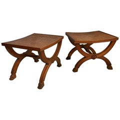 Pair of 19th Century Italian Benches