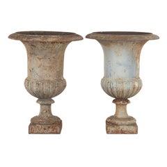 Pair of 19th Century Medici Urns