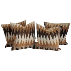 Pair of 19th Century Navajo Indian Weaving Pillows