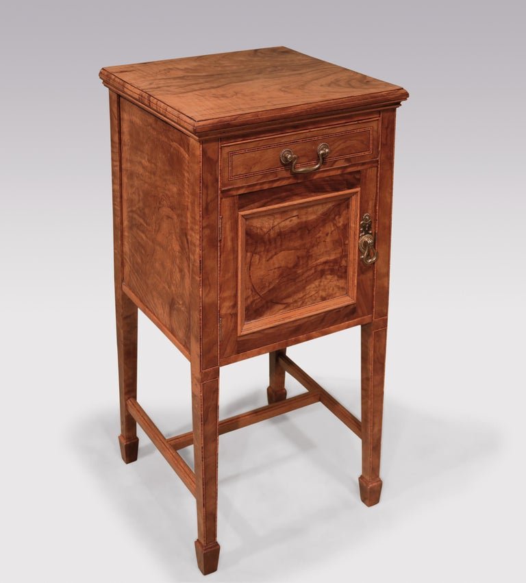Pair of 19th Century Olivewood Bedside Cabinets In Good Condition For Sale In London, GB