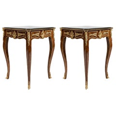 Pair of 19th Century Ormolu French-Style Side Table '2 Set', 20th Century