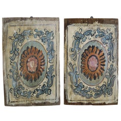 Pair of 19th Century Painted Italian Panels