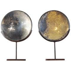Pair of 19th Century Parabolic Concave Reflectors