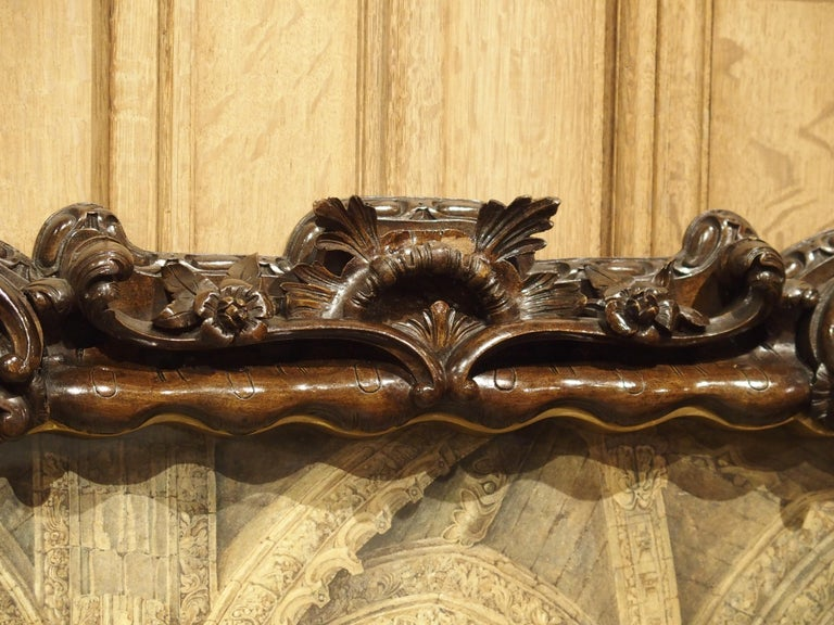 Pair of 19th Century Rosslyn Chapel Watercolors in Carved Fruitwood Frames In Good Condition For Sale In Dallas, TX