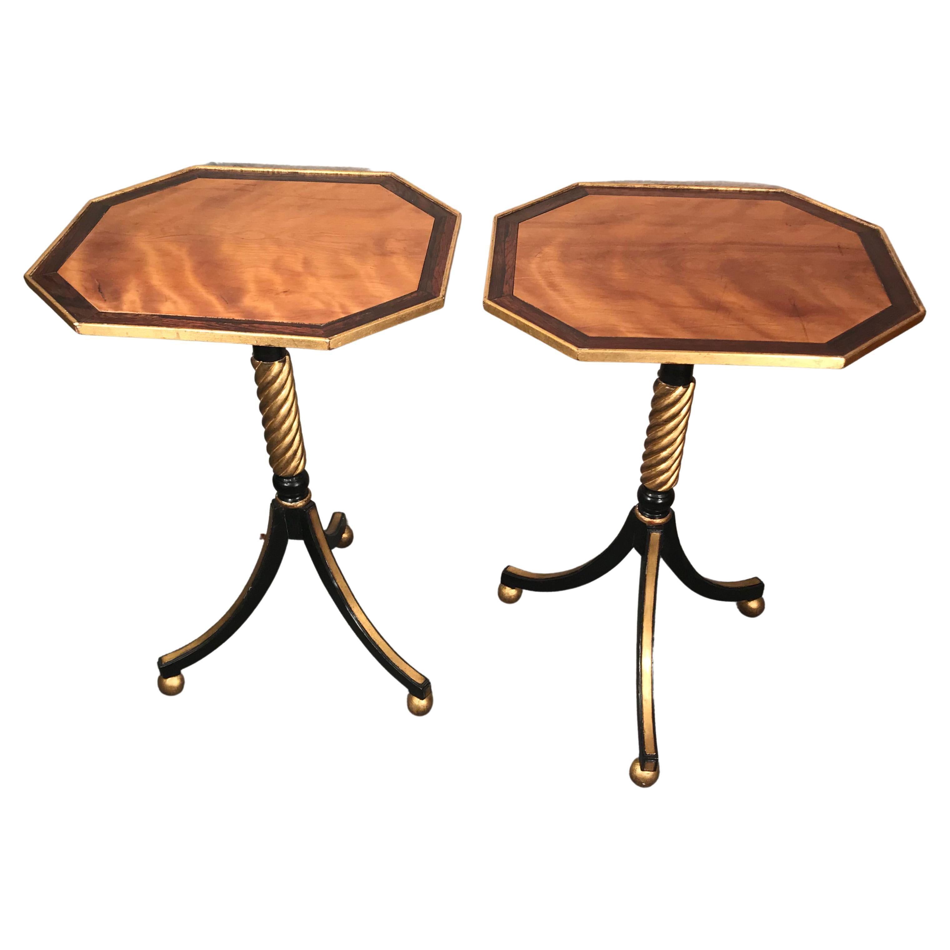 Pair of 19th century Side Tables, France