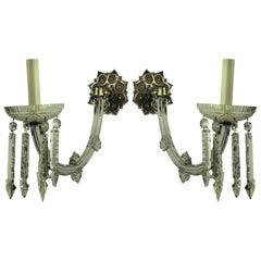 Pair of 19th Century Single-Arm Sconces
