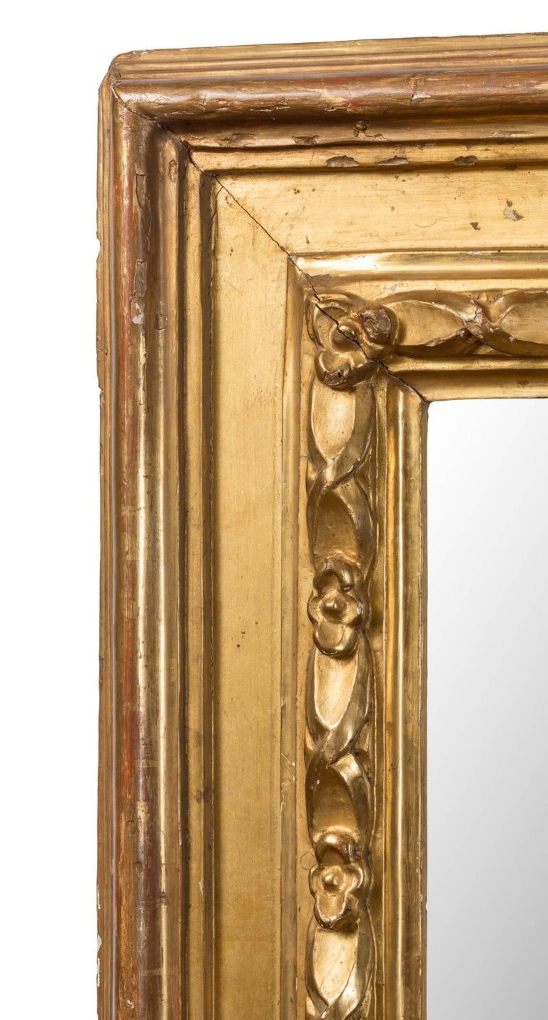 Pair of 19th Century Spanish Rectangular Mirrors In Good Condition For Sale In Madrid, ES