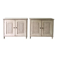 Pair of 19th Century Swedish Gustavian Sideboards