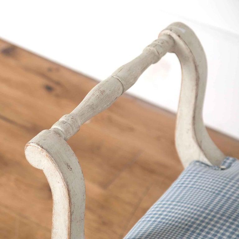 Pine Pair of 19th Century Swedish Stools For Sale