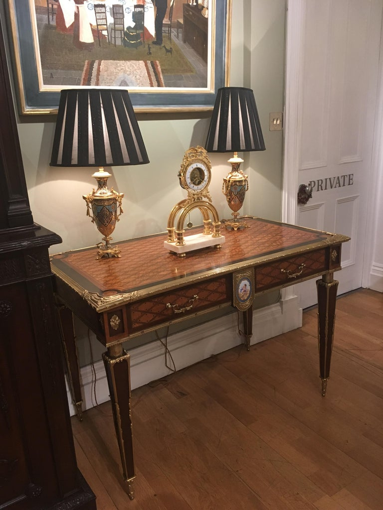 Pair of 19th Century Trellis and Dot Tables Attributed to Donald Ross For Sale 2