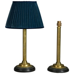 Pair of 19th Century Victorian Brass Table Lamps