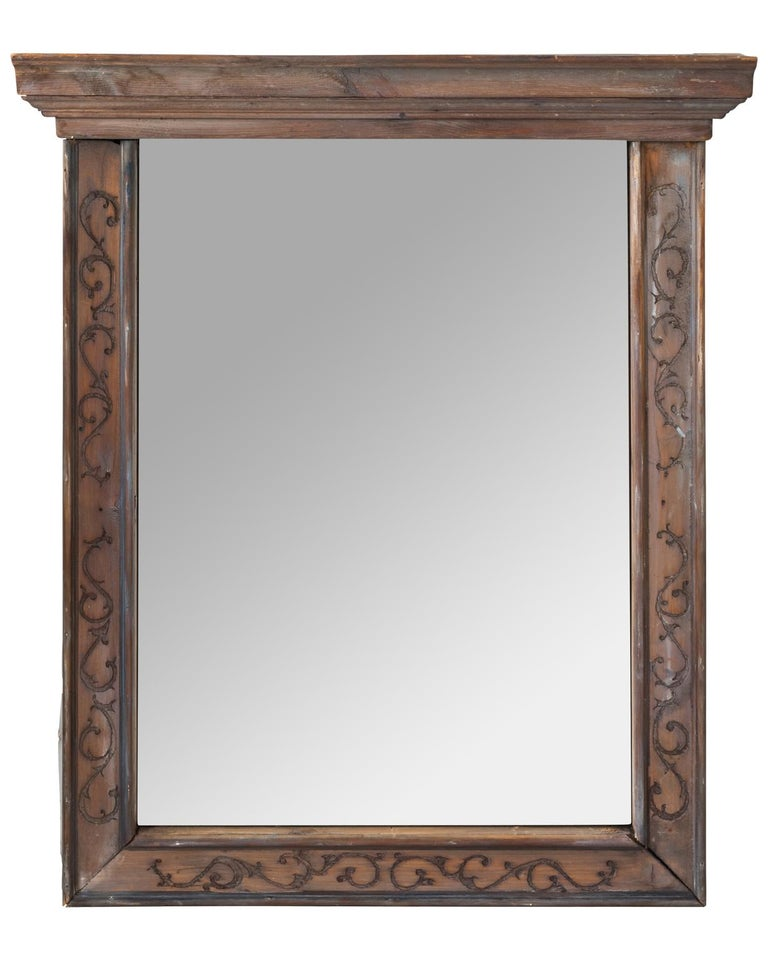 Pair of 19th Century Window Frame Mirrors For Sale 9