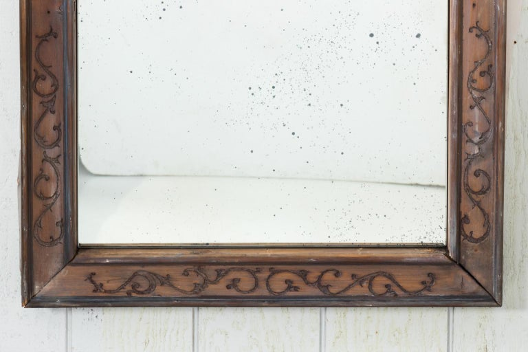 Pair of 19th Century Window Frame Mirrors For Sale 10