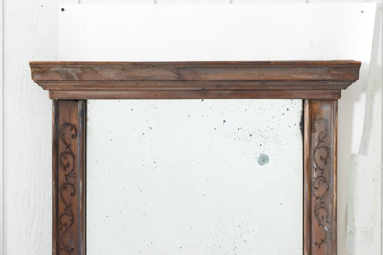 Pair of 19th Century Window Frame Mirrors For Sale 11