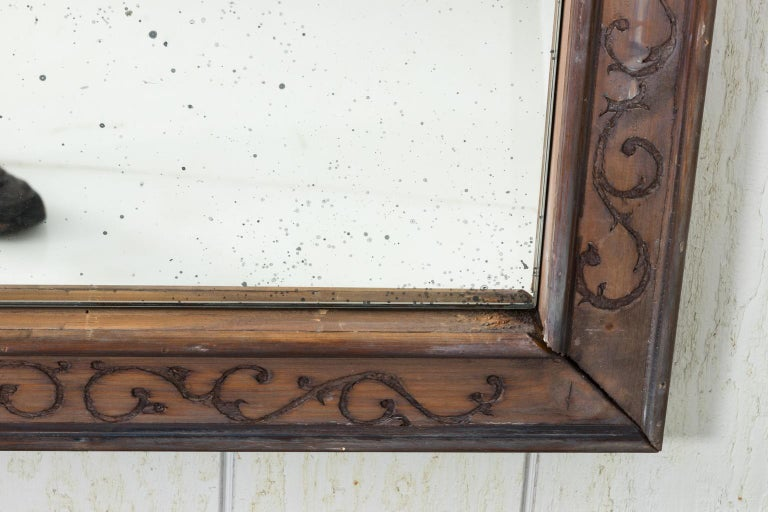 Pair of 19th Century Window Frame Mirrors For Sale 14